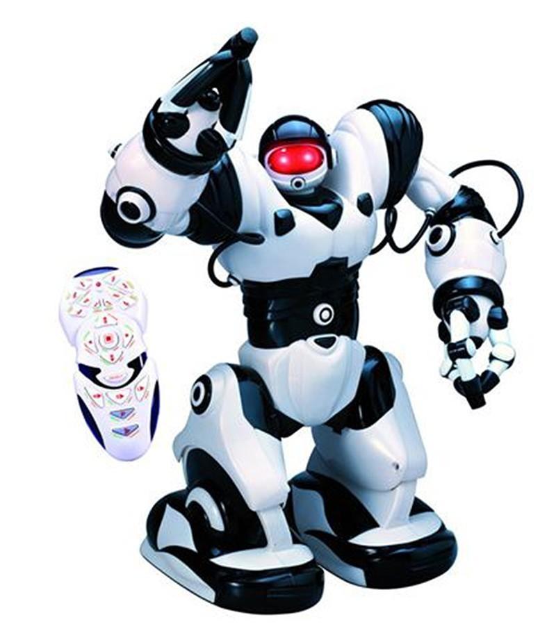 Jucarie interactiva Malplay Super Robot cu telecomanda, sunete si lumini 33 cm