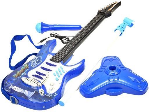Chitara pentru copii MalPlay cu amplificator, MP3 si microfon